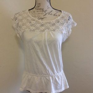 Medium White LOFT Top